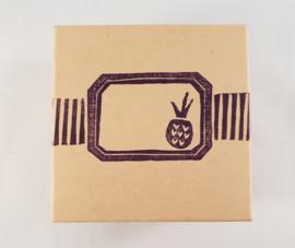 Klein opbergdoosje - Ananas