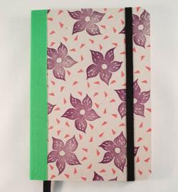 A6 notitieboekje - Bloemen
