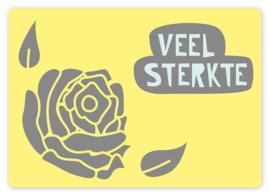 Wenskaart - Roos