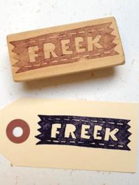 Naamstempel - stijl Freek