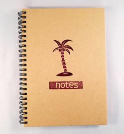 A5 notitieboekje - Palmboom
