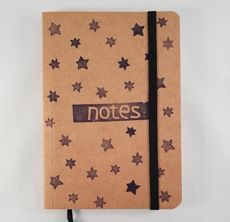 A6 notitieboekje - Sterren