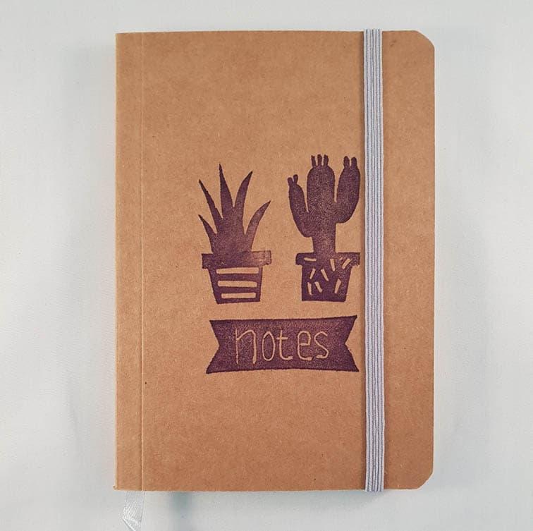 A6 notitieboekje - Cactus