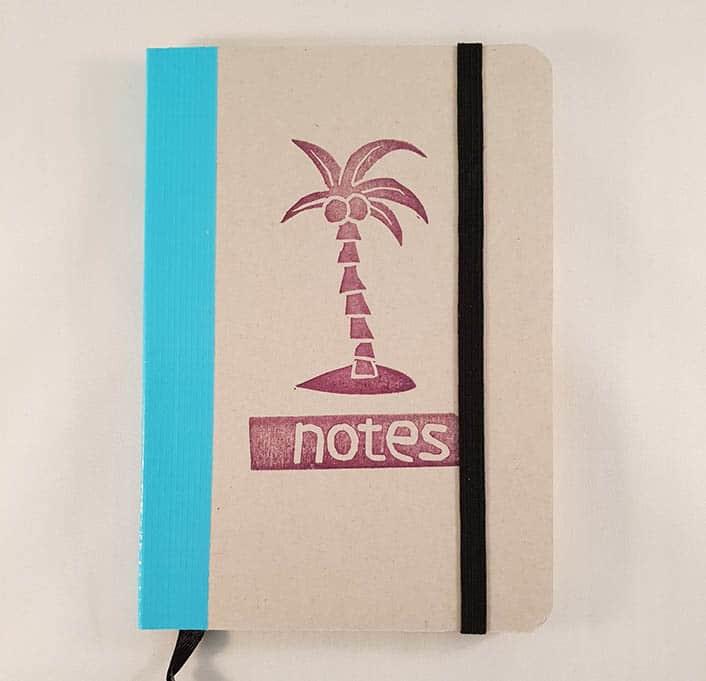 A6 notitieboekje - Palmboom