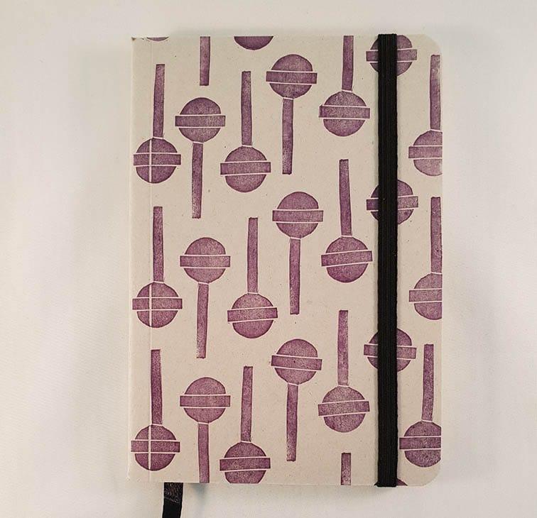 A6 notitieboekje - Lollies