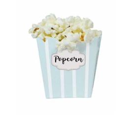 Houten popcornmachine