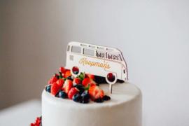Taarttopper - Volkswagen bus