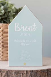 """Geboortehuisje """"Brent"""""""