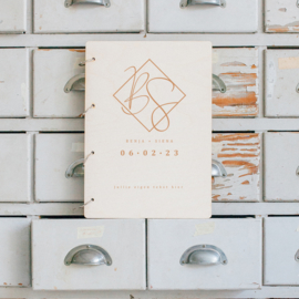 Gastenboek hout - Classic
