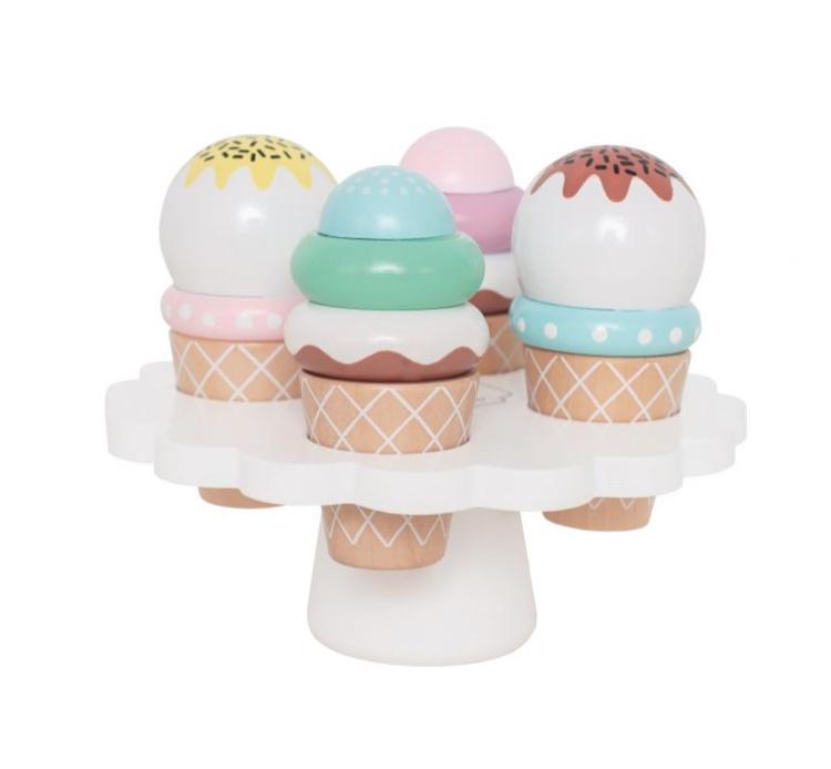 Houten ijsjes