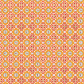 Behang Zaza Orange