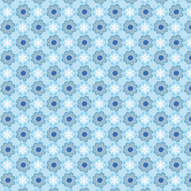 Behang Ynez Blue