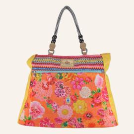 Beachbag XL Woodstock Oranje