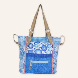 High shopper Yucatan blauw