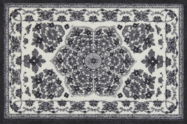 Vloermat Zimra Antraciet 75 x 120 cm