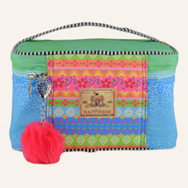 Beautybag Wild Rose Turqoise