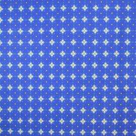 Stof Coba blauw