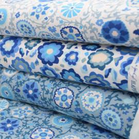 Tricot Yakira Blauw/wit