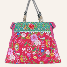 Beachbag XL Botania Rood
