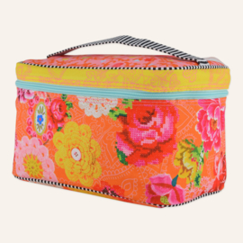 Beautybag Woodstock oranje