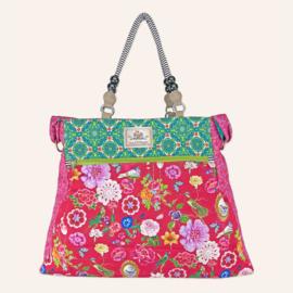 Beachbag XL Botania Rood