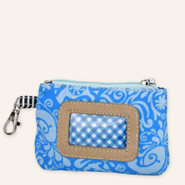 ID card cover blauw/wit Yoyo