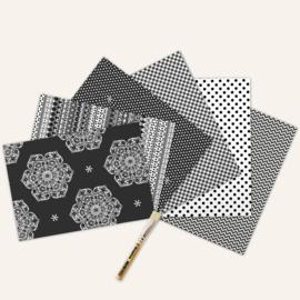 Knutsel/decoupage papier