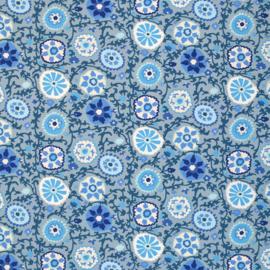 Tricot Yakira Blauw/grijs