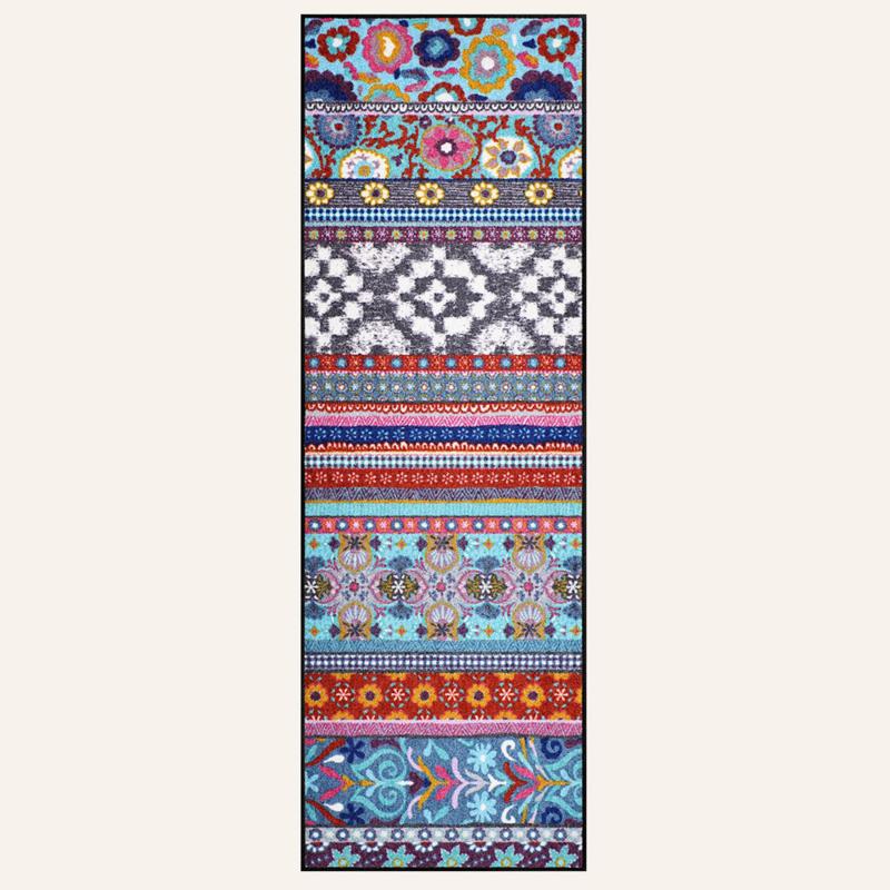 Vloermat Celesta Blauw 60 x 180 cm