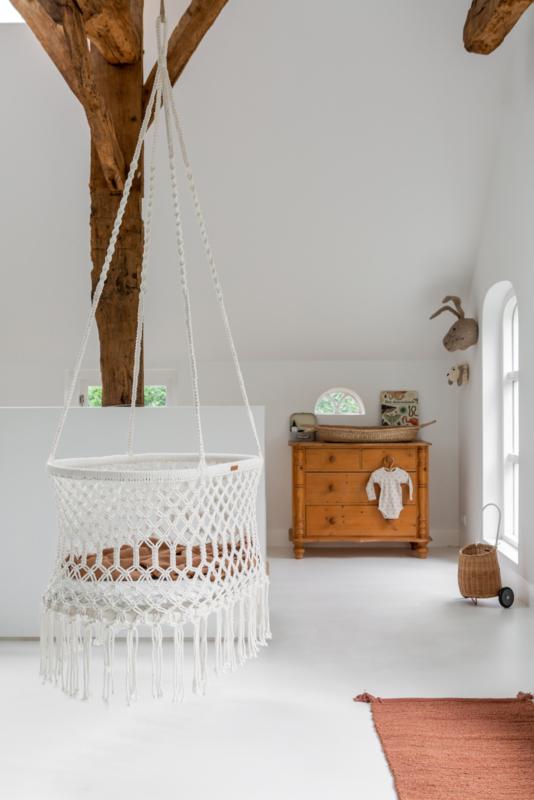 Bohemian Hanging Bassinet