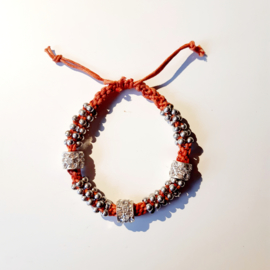 "ARMBAND "" SHINY ORANGE"""