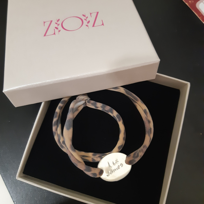 """ARMBAND """"PERFECT LOVE"""" SILVER"""