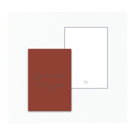 Mini / Kado kaartje - Speciaal voor jou