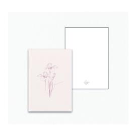 Mini / Kado kaartje - Bloem