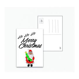 Kerstman - Ansichtkaart