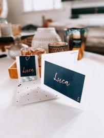 Geboortekaartje Luca