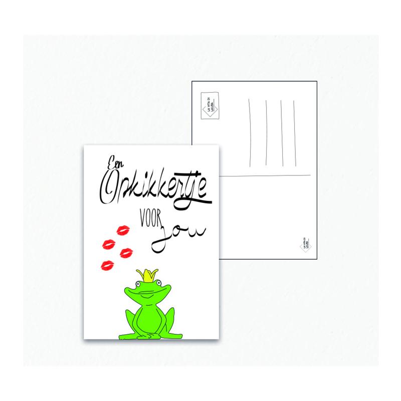 Opkikkertje - Ansichtkaart