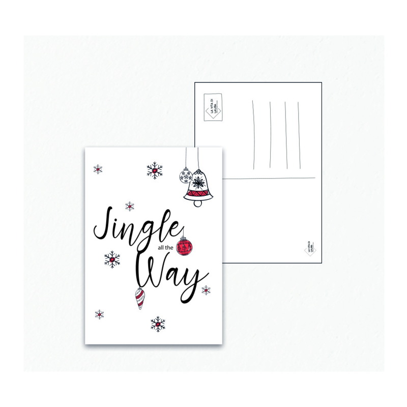 Jingle all the Way - Ansichtkaart