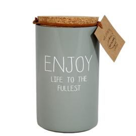 Enjoy Life The Fullest - Geurkaars