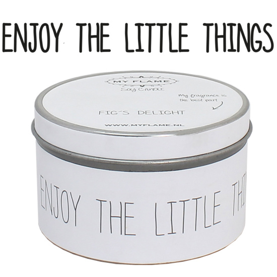 Enjoy the little things - Geurkaars
