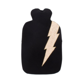 Warm & Cozy | Black & Golden Lightning | Pepper Socks