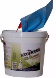 Neofresh - Geur en urine remover wipes (2x680 stuks)