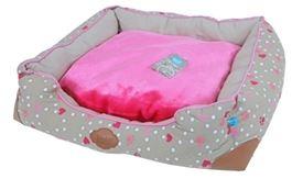 Lief Puppy Startpakket Roze met benchkussen en divan