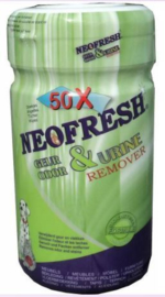 Neofresh - Geur en urine remover wipes 600st (12x50)