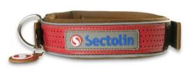 Sectolin Outdoor Halsband - Bruin/Oranje Rood