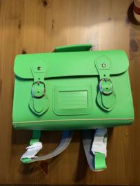 pepper bags vintage boekentasje green