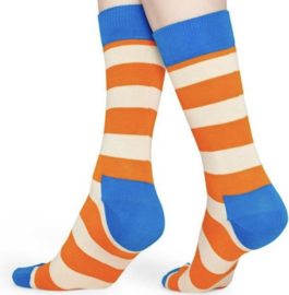 Happy socks stripes orange