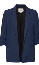 Soaked in Luxury SHIRLEY- blazer-midnight Navy