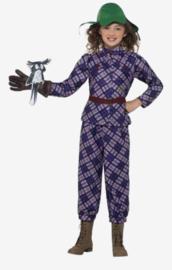 Smiffys Kinder kostuum- kids David Walliams Deluxe awful auntie