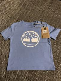 baby blauwe t-shirt Timberland  2 j/ 86